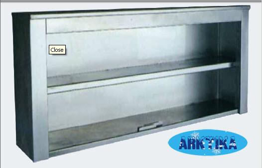 Шкафы настенные из нержавеющей стали