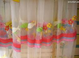 Купить Тюль для детской комнаты