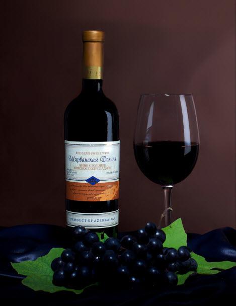 Ширванская долина (Вино столовое красное полусладкое)