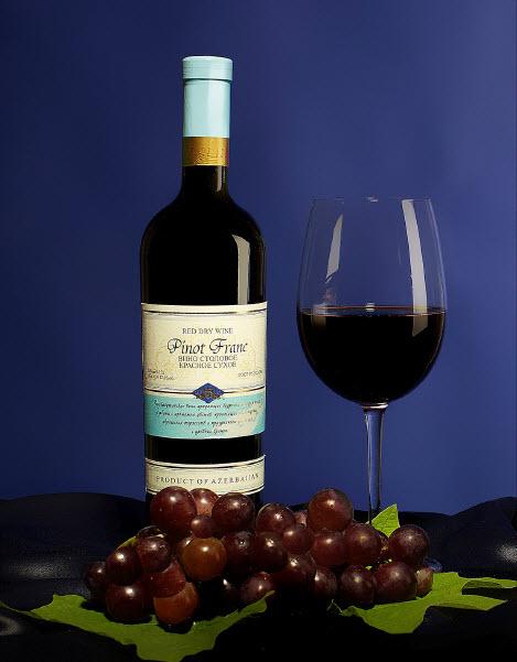 Пино Фран (Вино столовое красное сухое)