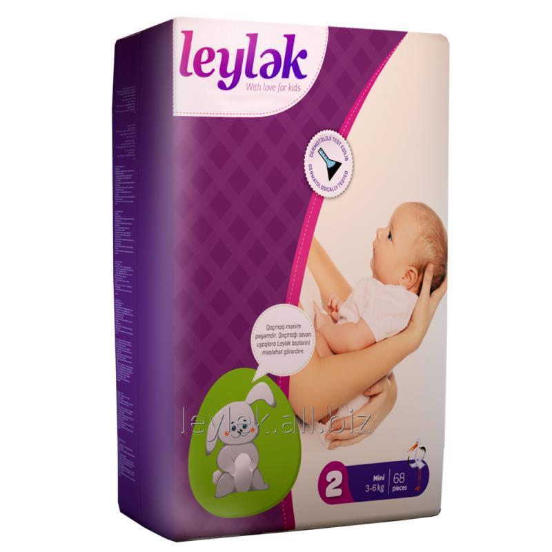 Купить Leylək детские подгузники 2(68)