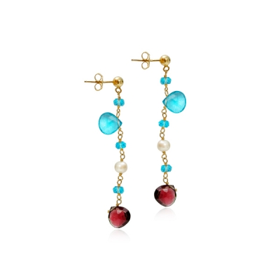 Buy Gilded earrings