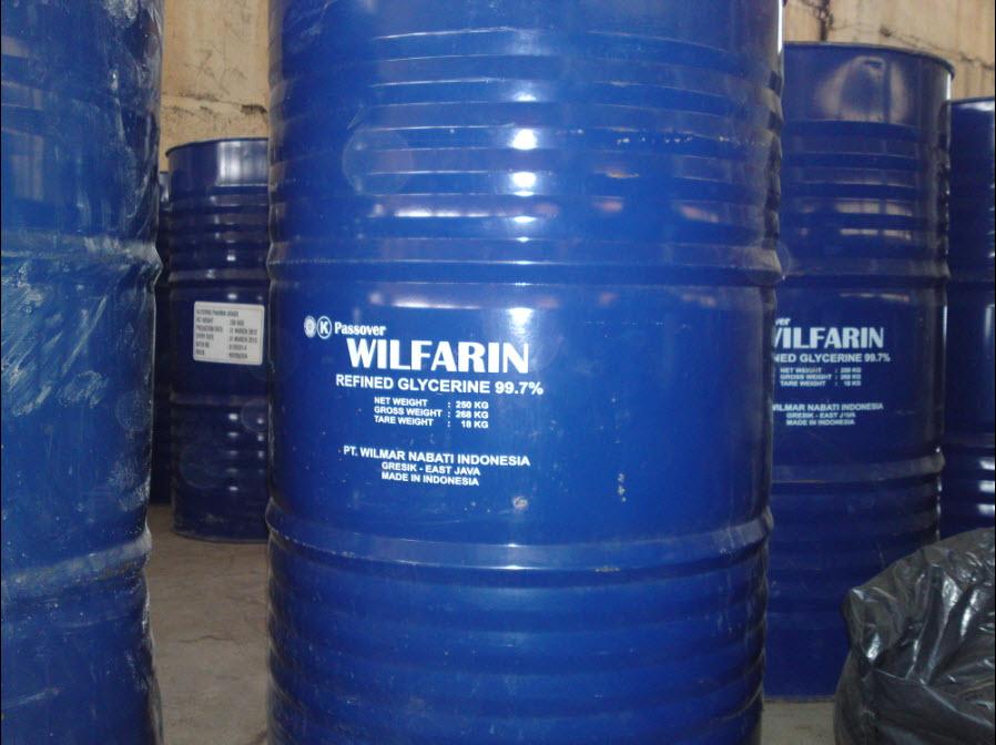 Рафинированный глицерин, Wilfarin