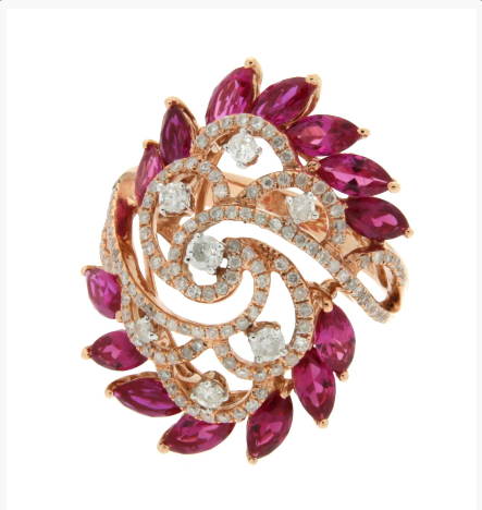 Купить Кольца с драгоценными камнями