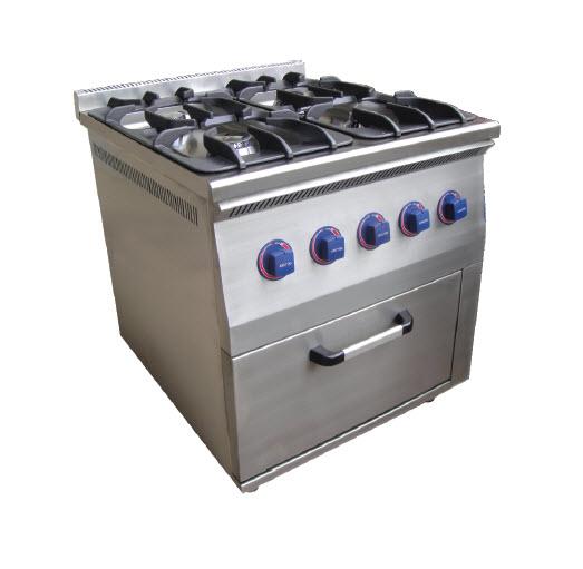 Газовая печь с духовкой