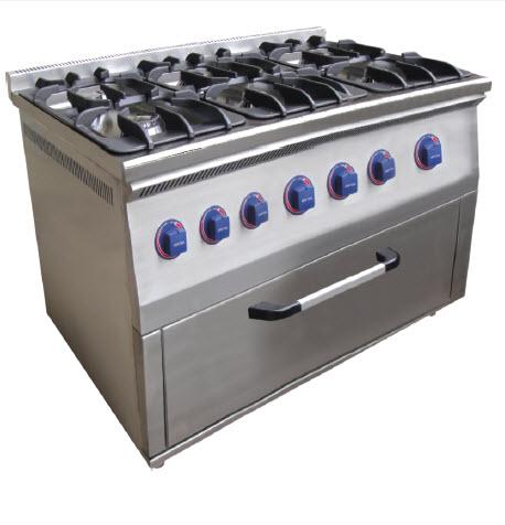 Газовая плита, с духовкой