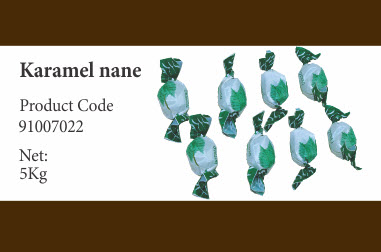 Купить Конфеты карамель с мятой 91007022