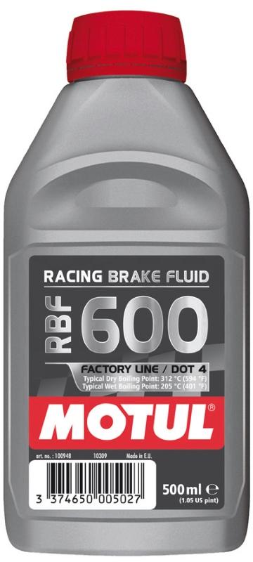 Тормозная жидкость RACING BRAKE FLUID 600 FACTORY LINE