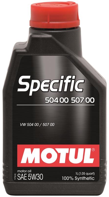 Купить Моторное масло MOTUL SPECIFIC 504.00-507.00 5W-30