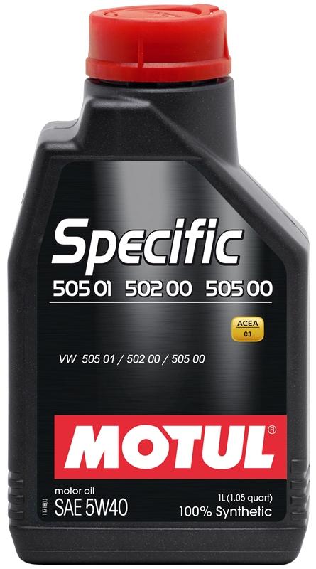 Купить Моторное масло MOTUL SPECIFIC 505.01-502.00-505.00 5W-40