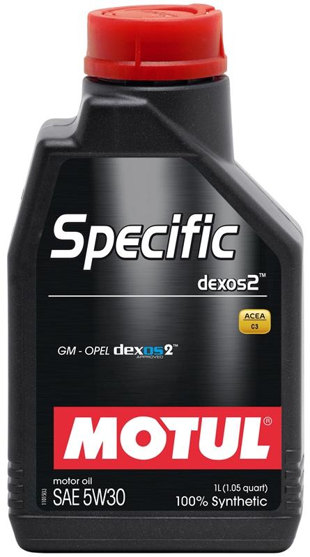 Купить Моторное масло MOTUL SPECIFIC DEXOS2 5W-30