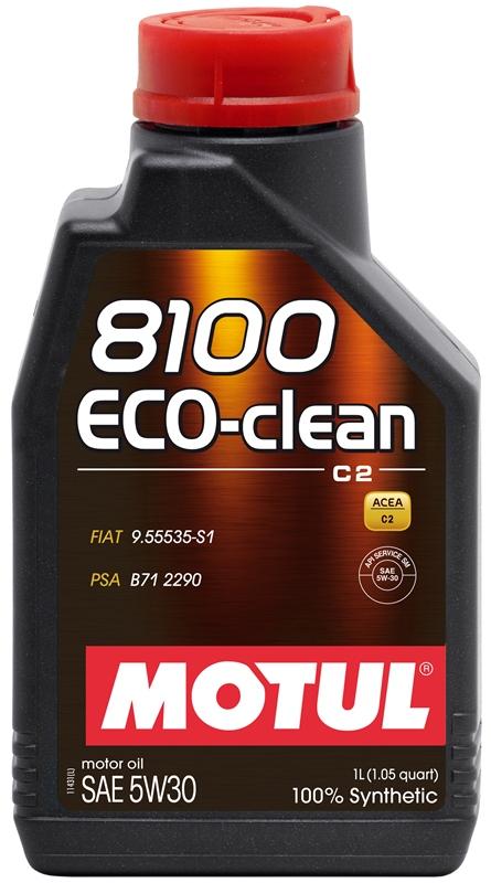Купить Моторное масло MOTUL 8100 ECO-CLEAN 5W-30