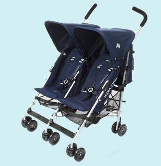 Купить Коляски детские для близнецов - Близнецовый экипаж от Макларен