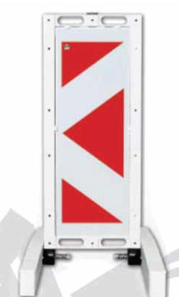 Складной предупреждающий знак барьер 12503 FB R