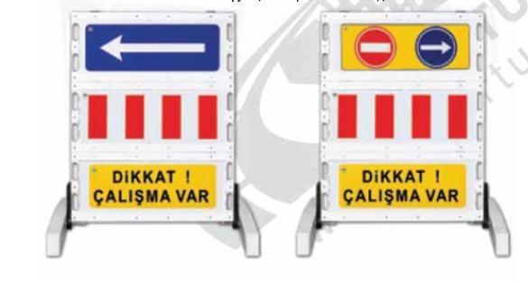 Купить Складной предупреждающий знак барьер 12502 FB R