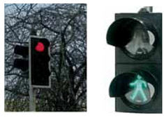 Buy The pedestrian signaling device with a tight light-emitting diode
