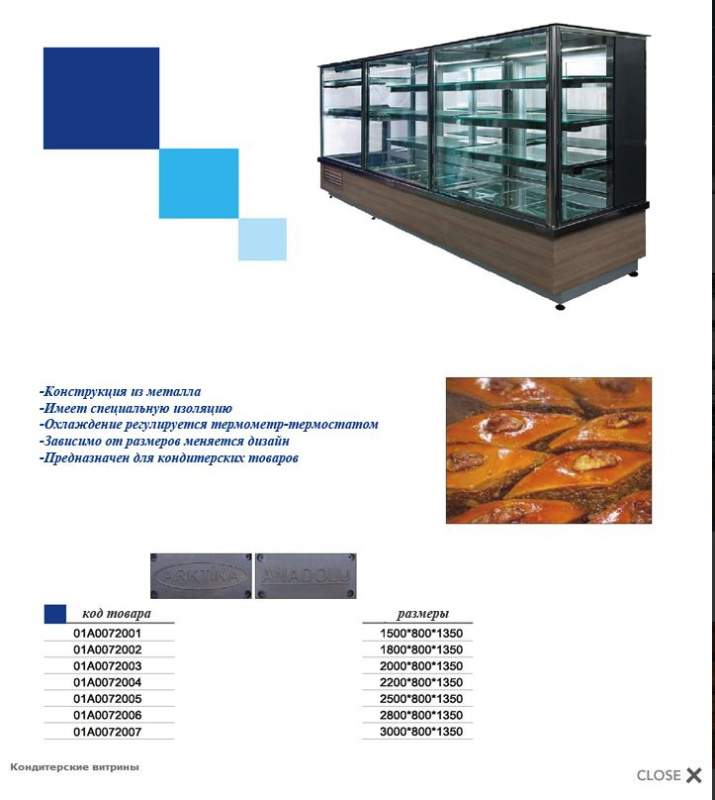 Buy Confectionery show-window 01A0072055