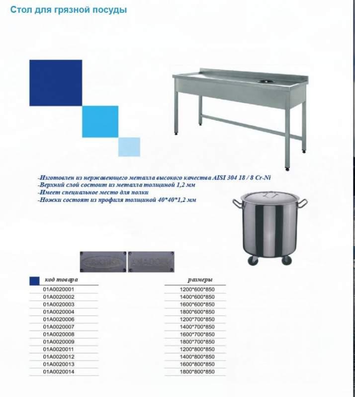 Передвижной стол 01А0011002