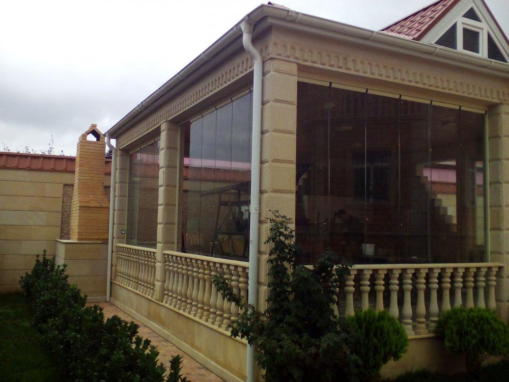 Cam balkon of 90 AZN 1 m2