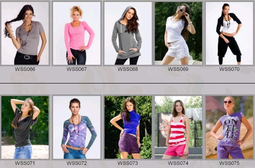 Купить Одежда женская весенне-летняя WSS066-WSS075