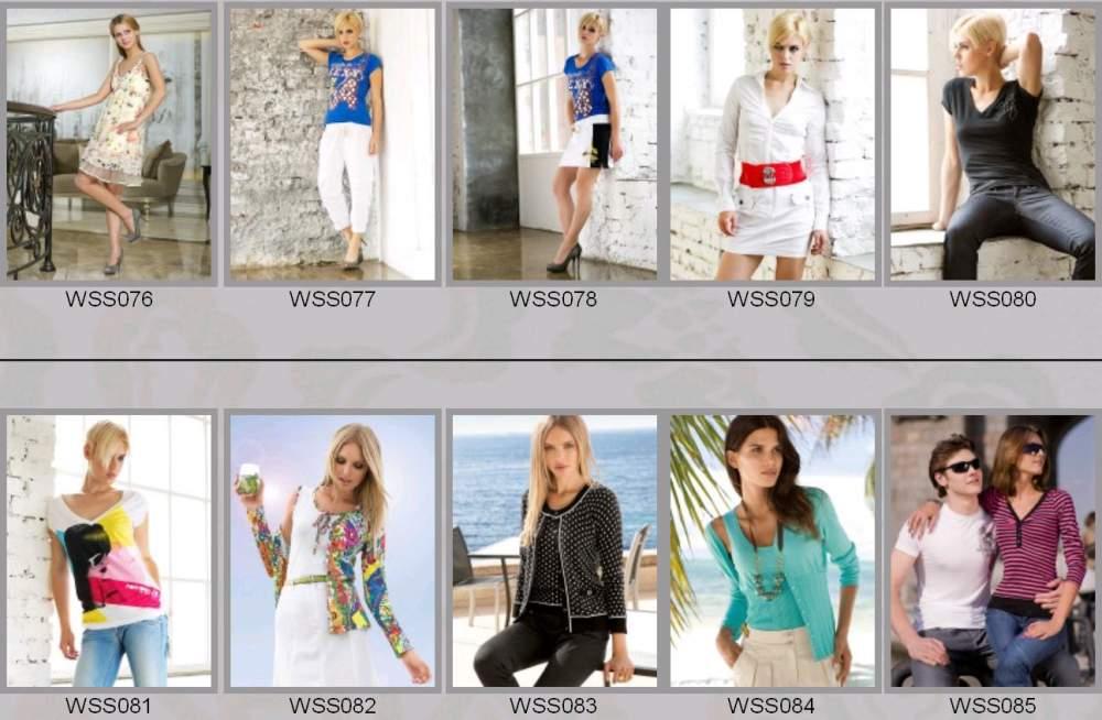 Купить Одежда женская весенне-летняя WSS076-WSS085
