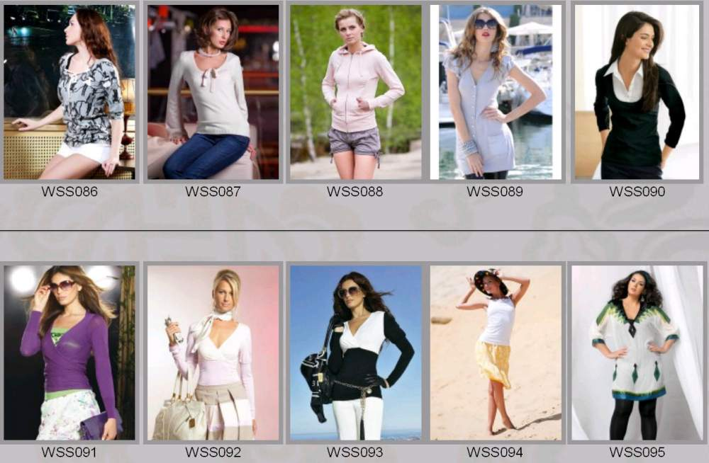 Buy Clothes female spring and summer WSS086-WSS095