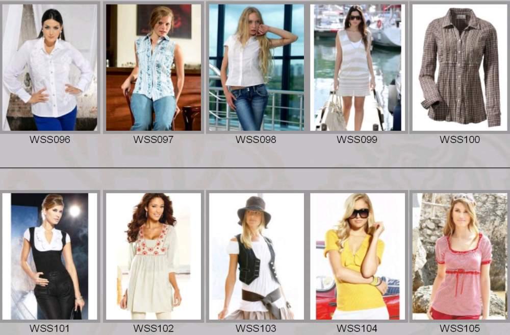 Купить Одежда женская весенне-летняя WSS096-WSS105
