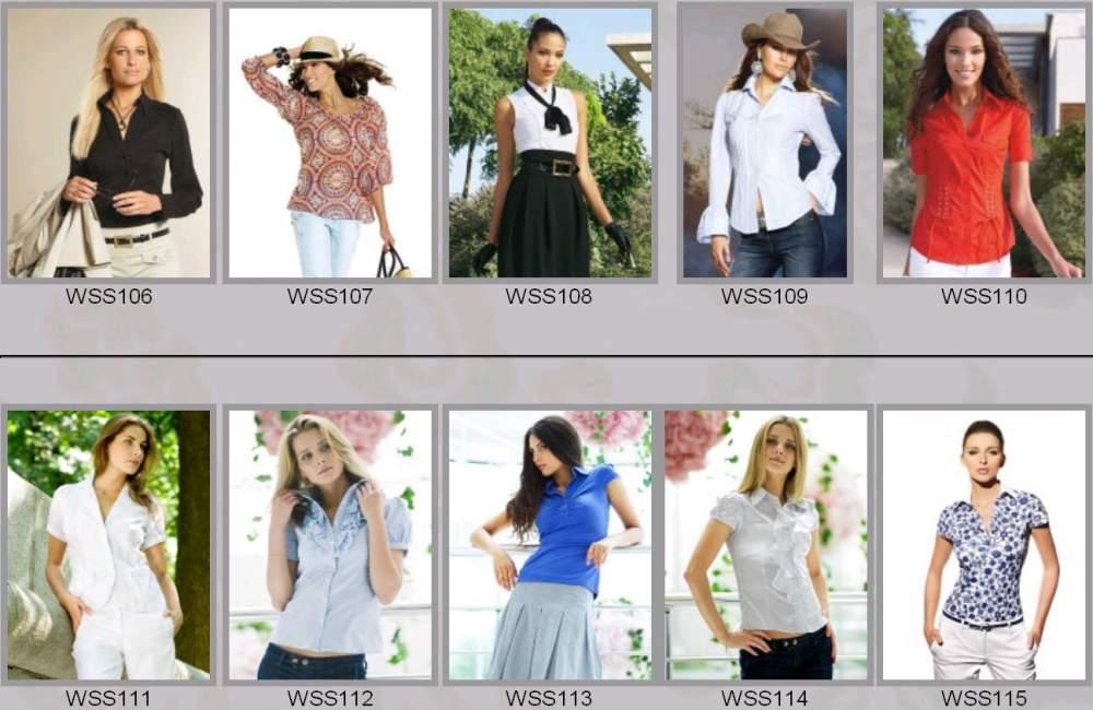 Купить Одежда женская весенне-летняя WSS106-WSS115