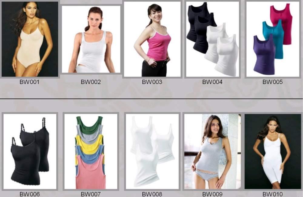 Buy Baud and undershirts female BW001-BW010