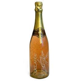 Вино игристое со съедобным 24 карата золотом