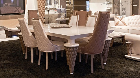 Столы и стулья для столовой Lizza qonaq, New-Age qonaq, Vizyon qonaq