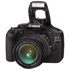 Цифровые фотоаппараты  Canon EOS 550D Kit 18-55