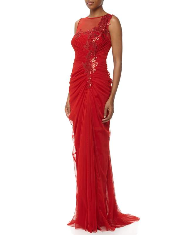 Buy Red Dress from Tulle