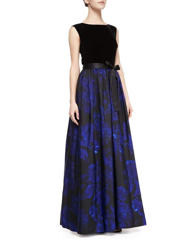 Купить Вечернее Платье с Принтом