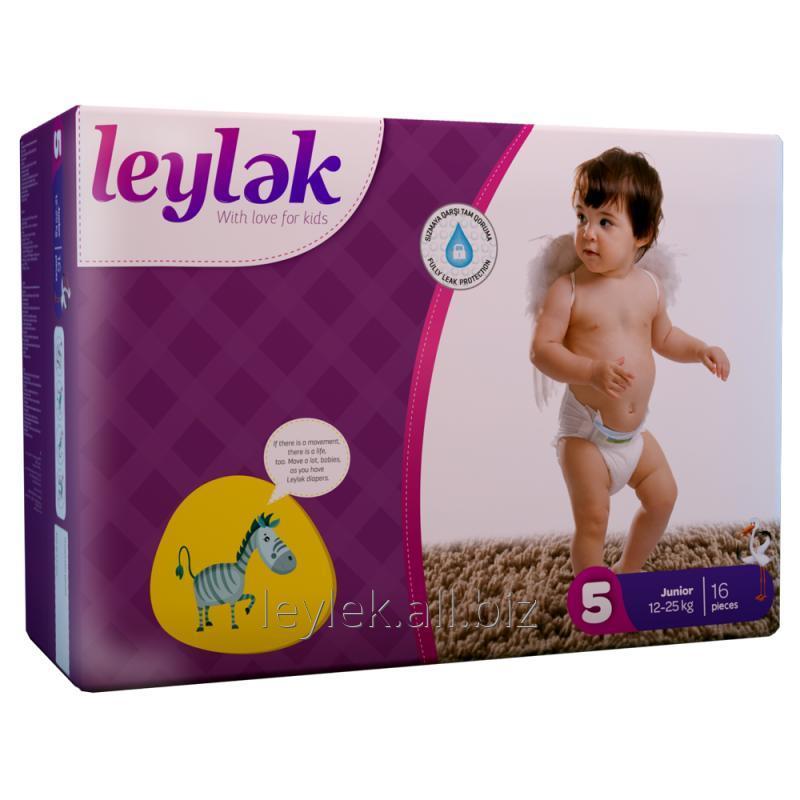 Купить Leylək детские подгузники 5(16)
