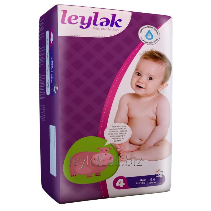 Купить Leylək детские подгузники 4(48)