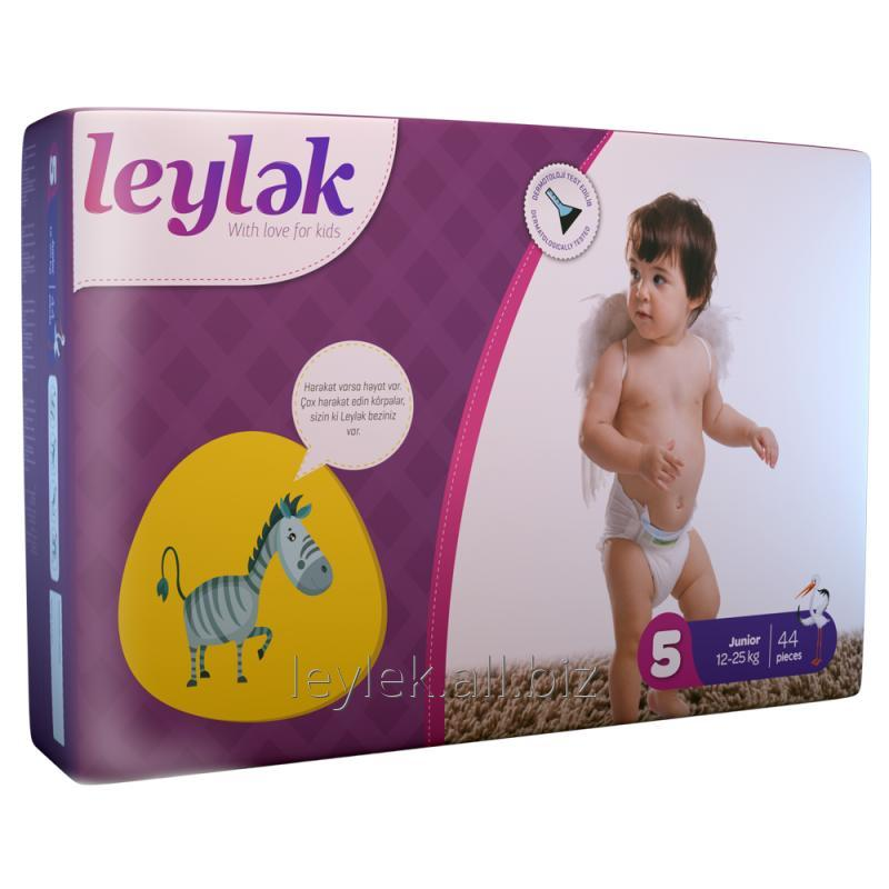 Купить Leylək детские подгузники 5(44)