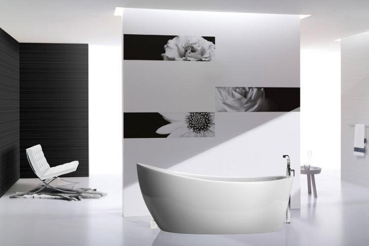 Buy Tile ceramic Black & White