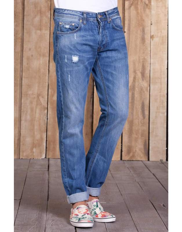 Buy LTB MARRISON MIDELL WASH man's jeans