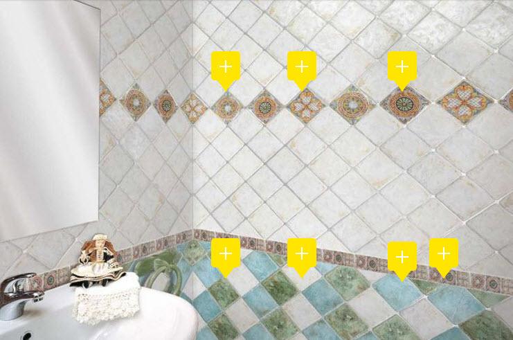 Buy Ceramic tile of Gambarelli the Le Maioliche collection from the Avro keramika company