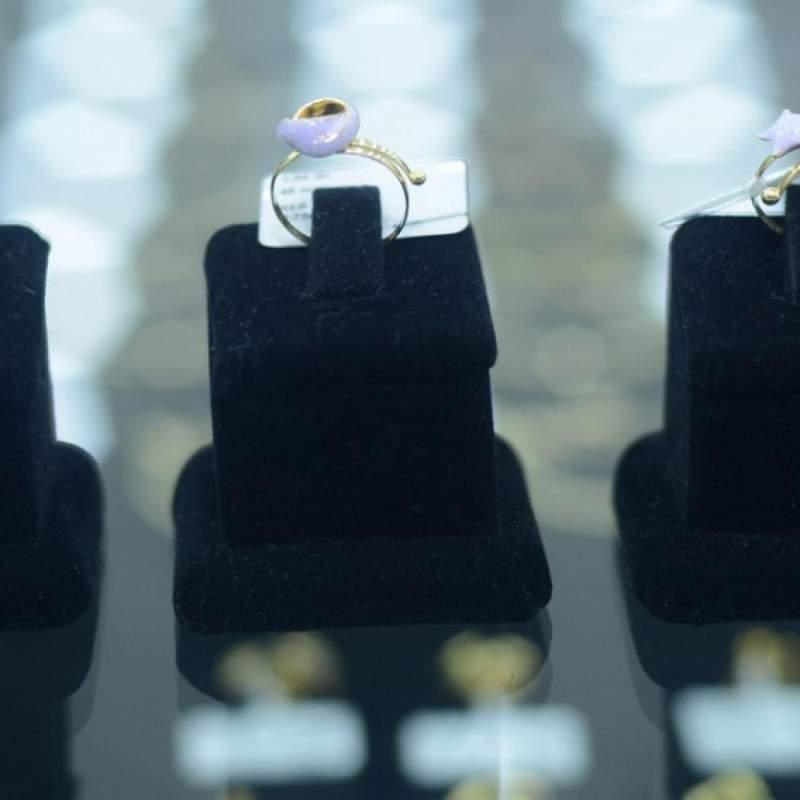 Купить Кольцо из золота для девочки