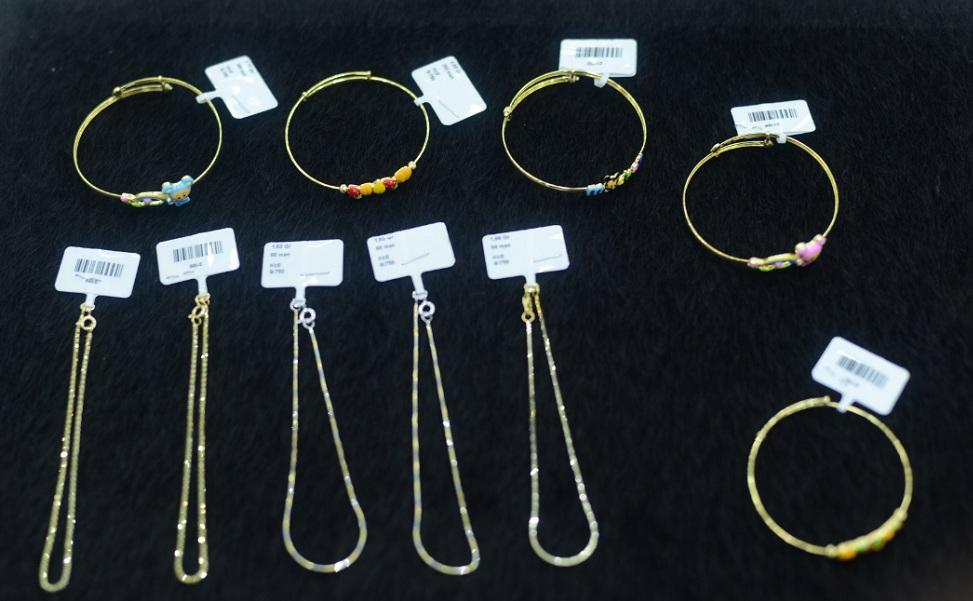 Buy Jewelry of gold for children