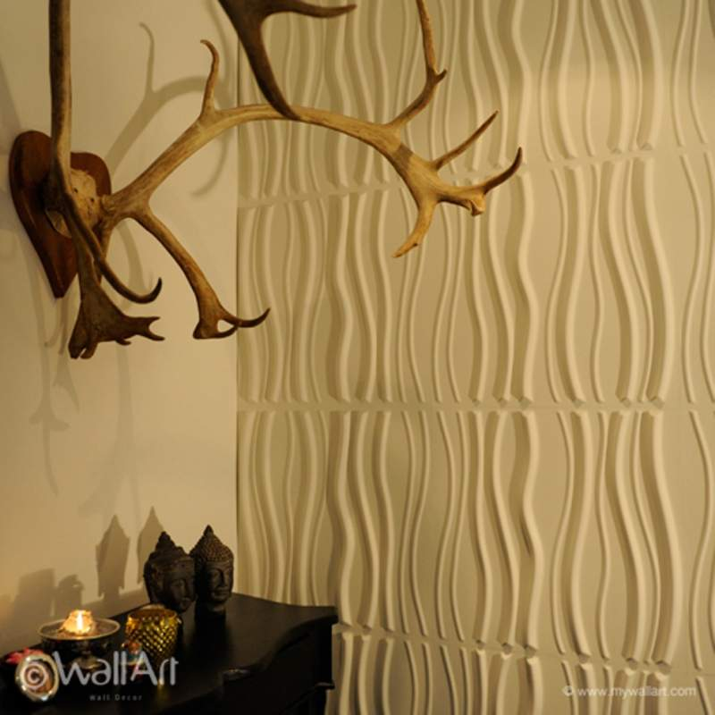 Стеновые 3D панели Арт 19