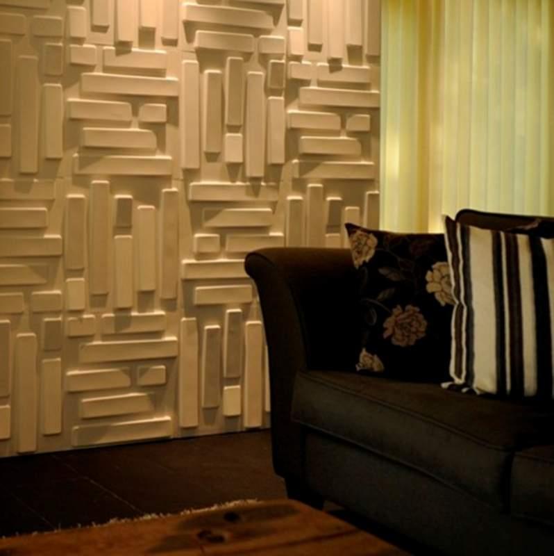 Стеновые 3D панели Арт 21