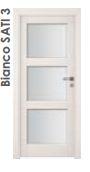 Дверь Bianco SATI 3