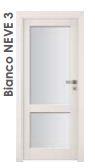 Ламинированные двери  Bianco NEVE 3