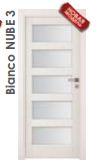 Ламинированные двери  Bianco NUBE 3