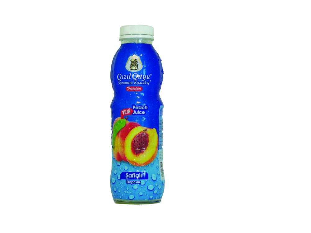 Напиток сочный фруктовый персик Qızıl Quyu
