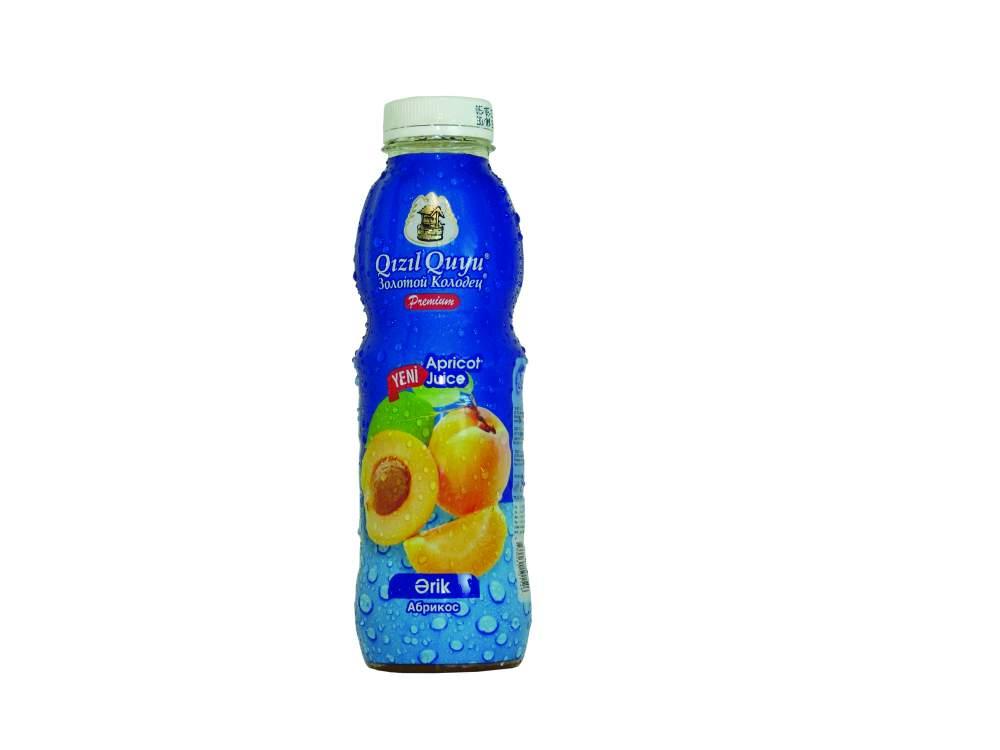 Напиток сочный фруктовый абрикос Qızıl Quyu