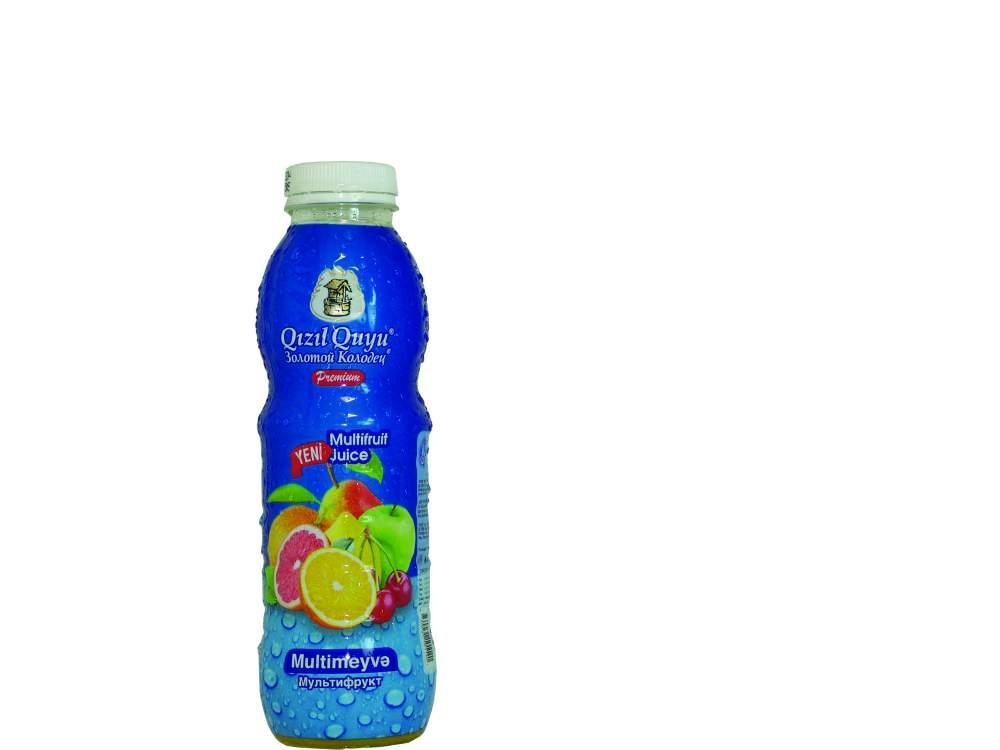 Напиток сочный фруктовый мультифруктовый Qızıl Quyu